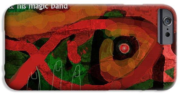 Def Leppard iPhone 6s Case - Beefheart Album Cover by Enki Art