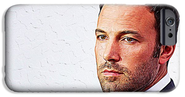 Ben Affleck IPhone 6s Case by Iguanna Espinosa