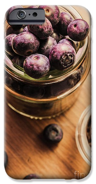 Blue Berry iPhone 6s Case - Berry Jam by Jorgo Photography - Wall Art Gallery