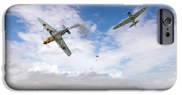 IPhone 6s Case featuring the photograph Bf109 Down In The Channel by Gary Eason