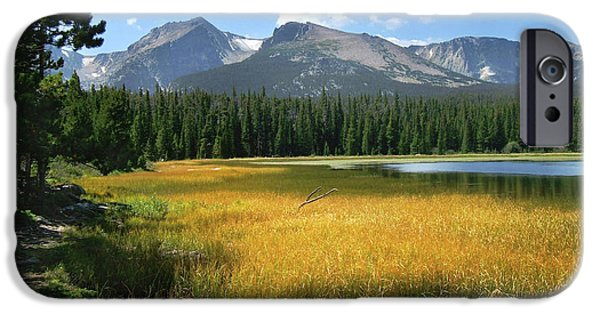 Autumn At Bierstadt Lake IPhone 6s Case by David Chandler
