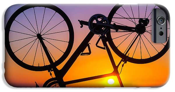 Bicycle iPhone 6s Case - Bike On Seawall by Garry Gay