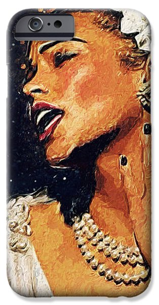 Billie Holiday IPhone 6s Case