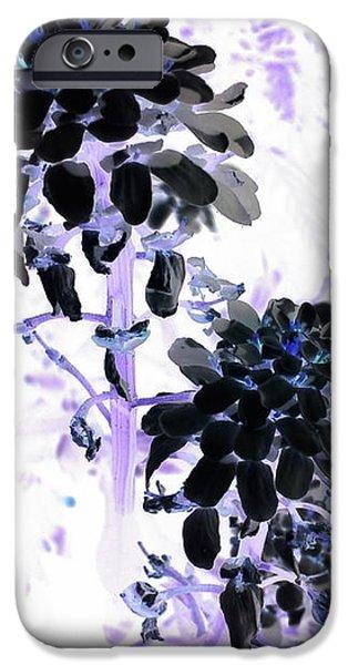 iPhone 6s Case - Black Blooms I I by Orphelia Aristal