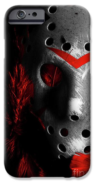 Hockey iPhone 6s Case - Black Friday The 13th  by Jorgo Photography - Wall Art Gallery