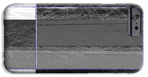 Contemporary iPhone 6s Case - Black Square by Naxart Studio