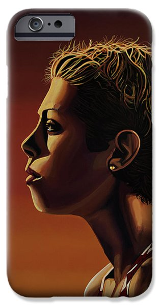 Blanka Vlasic Painting IPhone 6s Case by Paul Meijering