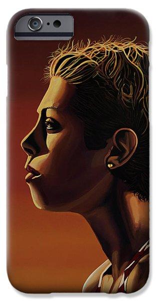 Blanka Vlasic Painting IPhone 6s Case by Paul Meijering