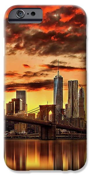 Blazing Manhattan Skyline IPhone 6s Case
