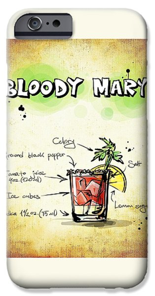 Bloody Mary IPhone 6s Case by Movie Poster Prints