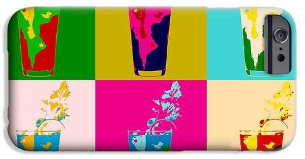 Bloody Mary Pop Art Panels IPhone 6s Case by Dan Sproul