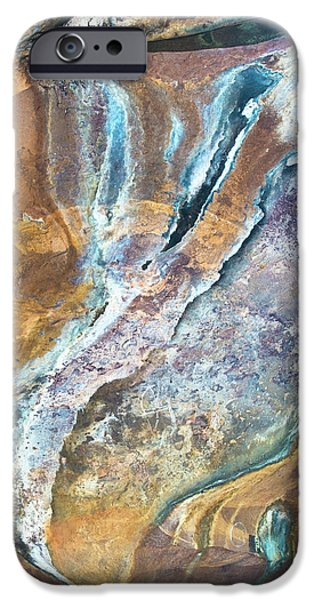 IPhone 6s Case featuring the photograph Blue Fantasy, Bhimbetka, 2016 by Hitendra SINKAR