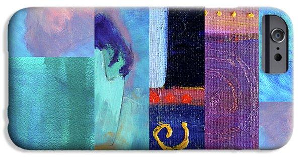 IPhone 6s Case featuring the digital art Blue Love by Nancy Merkle