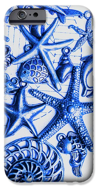 Scuba Diving iPhone 6s Case - Blue Reef Abstract by Jorgo Photography - Wall Art Gallery