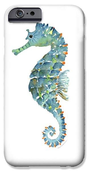 Blue Seahorse IPhone 6s Case