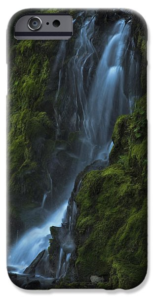 IPhone 6s Case featuring the photograph Blue Waterfall by Yulia Kazansky