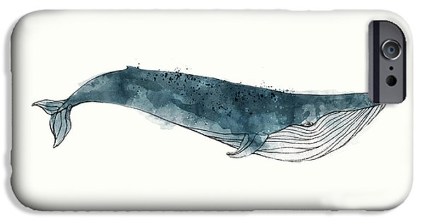 Blue Whale From Whales Chart IPhone 6s Case by Amy Hamilton