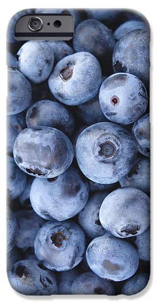 Blueberries Foodie Phone Case IPhone 6s Case by Edward Fielding
