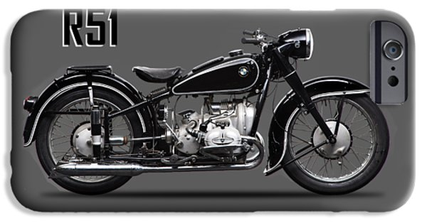Transportation iPhone 6s Case - The R51 Motorcycle by Mark Rogan