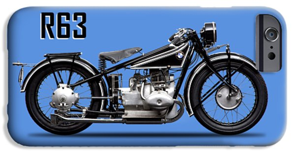 Transportation iPhone 6s Case - The R63 Motorcycle by Mark Rogan