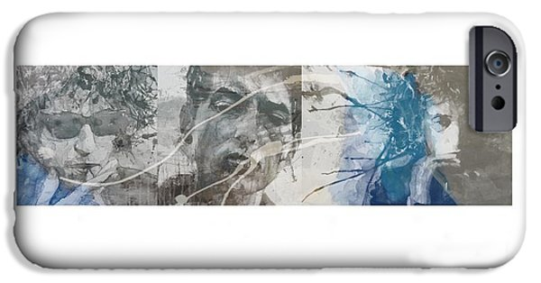 Bob Dylan Triptych IPhone 6s Case