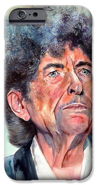 Bob Dylan Watercolor Portrait  IPhone 6s Case
