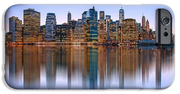 New York City Skyline iPhone 6s Case - Bold And Beautiful by Az Jackson