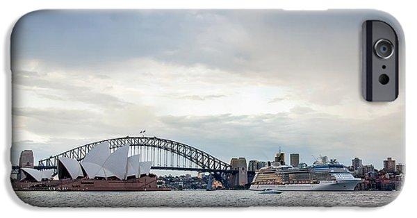 Cruise Ship iPhone 6s Case - Bon Voyage by Az Jackson