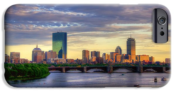 Boston Skyline Sunset Over Back Bay IPhone 6s Case
