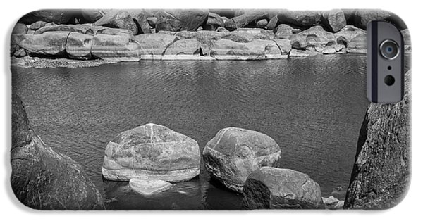 IPhone 6s Case featuring the photograph Boulders Of Tungabhadra, Hampi, 2017 by Hitendra SINKAR