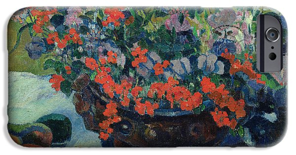 Bouquet Of Flowers IPhone 6s Case by Paul Gauguin