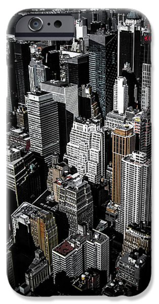 Times Square iPhone 6s Case - Boxes Of Manhattan by Nicklas Gustafsson