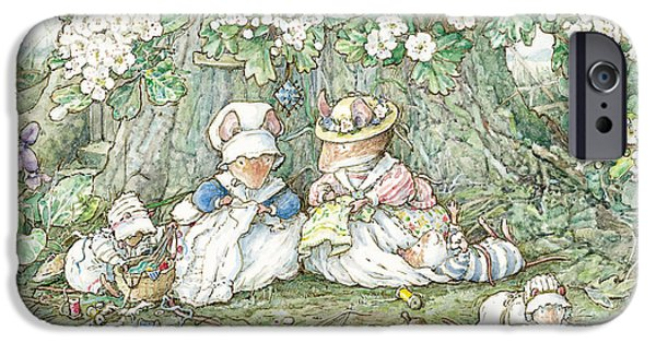 Brambly Hedge - Hawthorn Blossom And Babies IPhone 6s Case