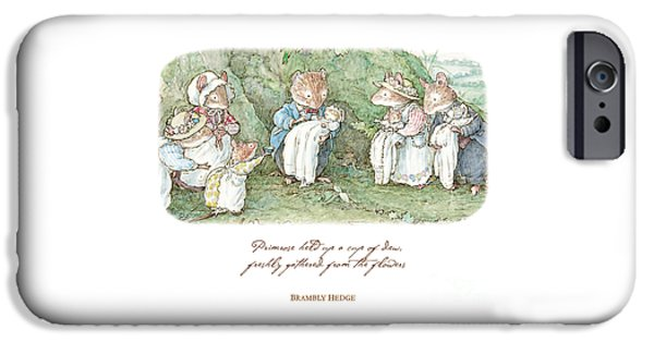 Brambly Hedge Naming Ceremony IPhone 6s Case