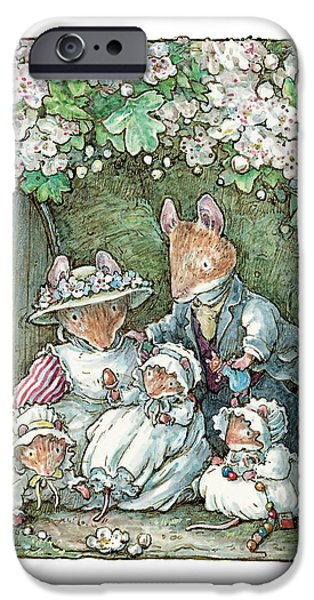 Coloured Pencil iPhone 6s Case - Brambly Hedge - Poppy Dusty And Babies by Brambly Hedge