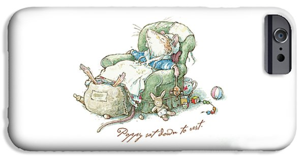 Brambly Hedge - Poppy Sat Down To Rest IPhone 6s Case