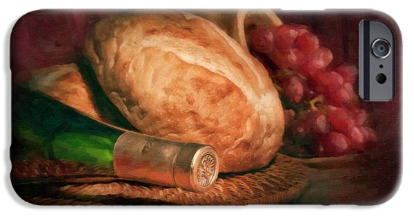 Bread And Wine IPhone 6s Case by Tom Mc Nemar