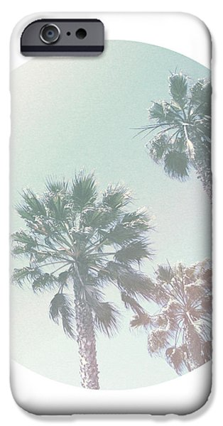 Santa Monica iPhone 6s Case - Breezy Palm Trees- Art By Linda Woods by Linda Woods