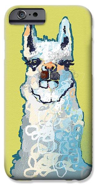 Bright Mustard Llama IPhone 6s Case