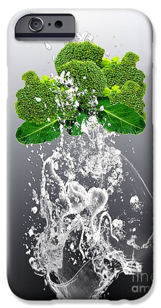 Broccoli Splash IPhone 6s Case by Marvin Blaine
