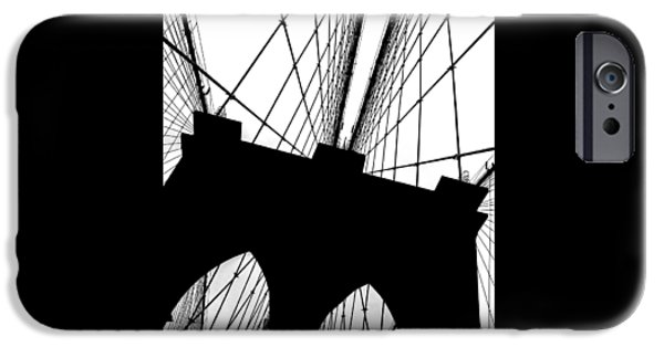 Brooklyn Bridge iPhone 6s Case - Brooklyn Bridge Architectural View by Az Jackson