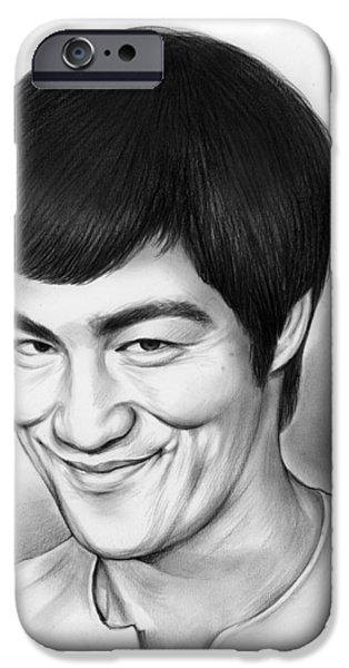 Bruce Lee IPhone 6s Case by Greg Joens