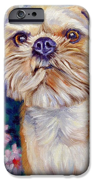 Brussels Griffon IPhone 6s Case by Lyn Cook