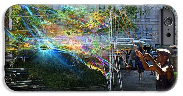 Bubble Maker Collage 1 IPhone 6s Case