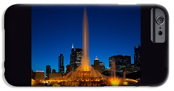 Buckingham Fountain Nightlight Chicago IPhone 6s Case by Steve Gadomski