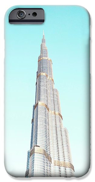 Office Buildings iPhone 6s Case - Burj Khalifa by Happy Home Artistry