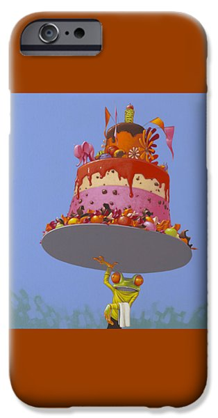 Cake IPhone 6s Case by Jasper Oostland