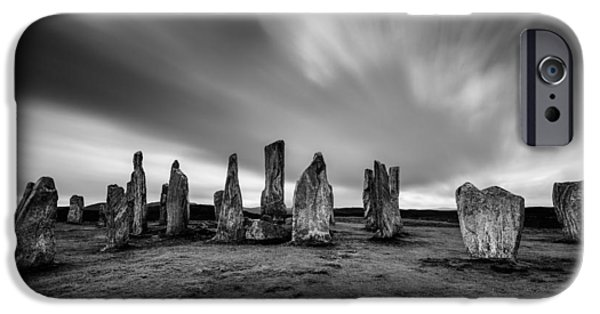 Callanish Stones 1 IPhone Case by Dave Bowman