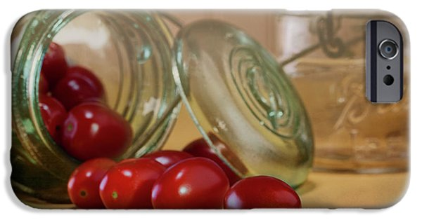 Tomato iPhone 6s Case - Canned Tomatoes - Kitchen Art by Tom Mc Nemar