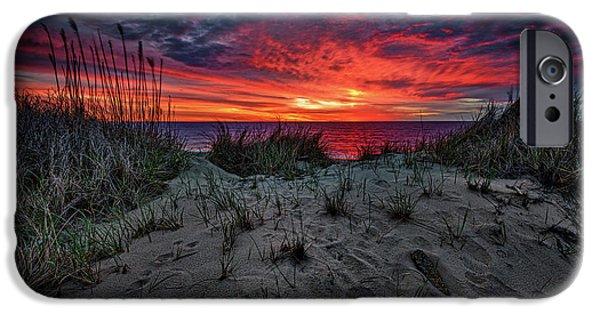 New England Coast iPhone 6s Case - Cape Cod Sunrise by Rick Berk